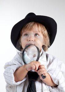 bdu. detective niño