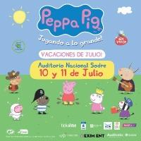 ¡Peppa llega en vacaciones de julio!